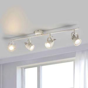 Bílá LED stropní svítilna Leonor, GU10