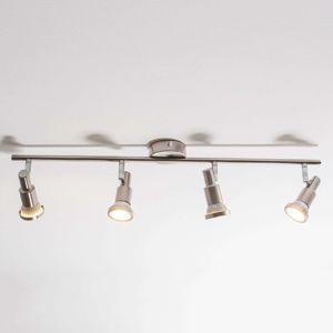 Čtyřzdrojové LED stropní svítidlo Aron
