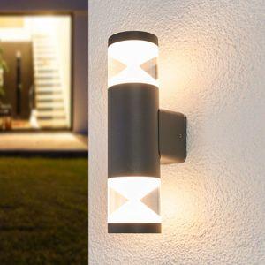 LED venkovní nástěnné svítidlo Tamiel, 2zdrojové