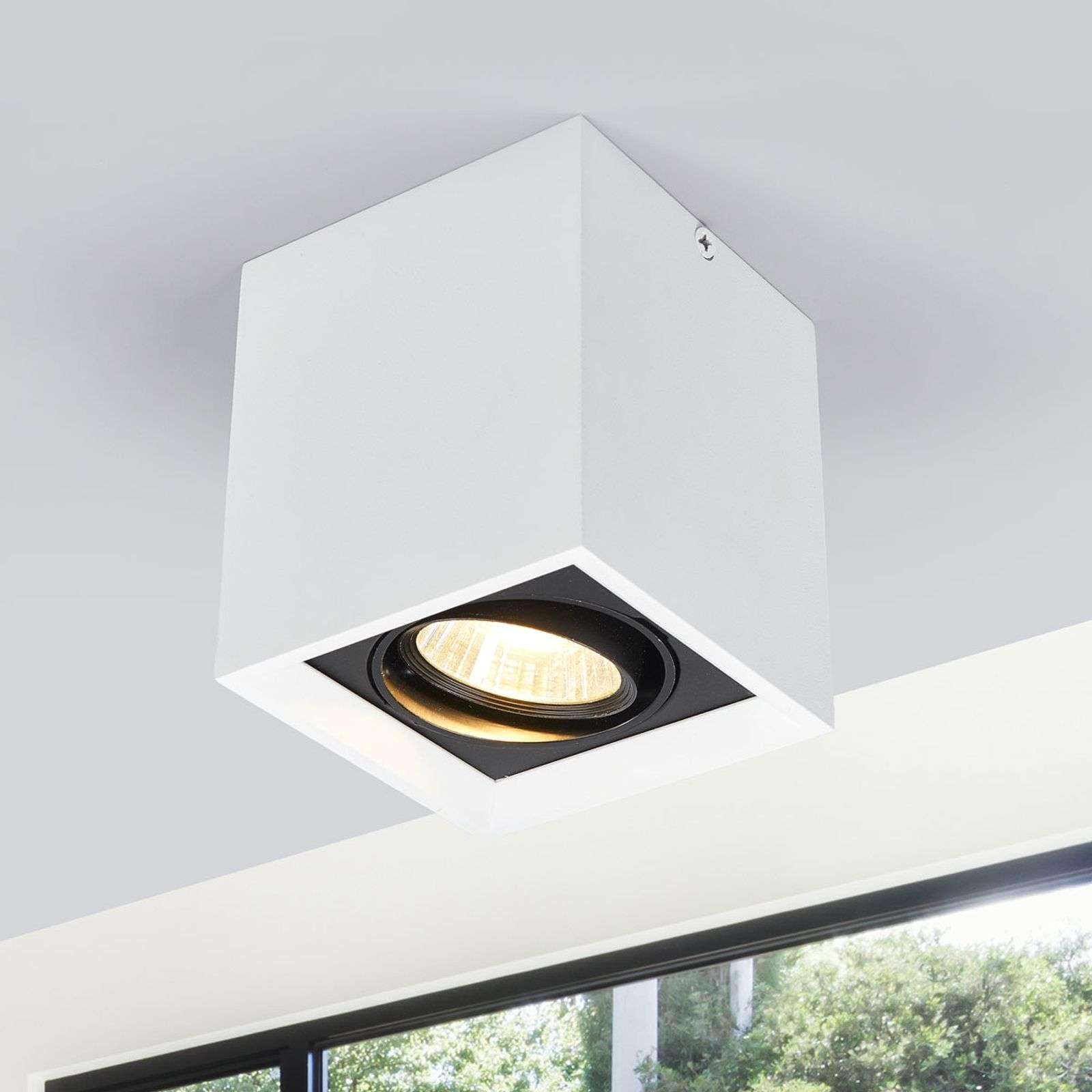 Bílé LED svítidlo downlight Loreen