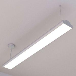 Kancelářská LED závěsná lampa Lexine, studená bílá