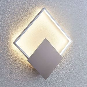 LED nástěnné světlo Anays, hranaté, 32 cm