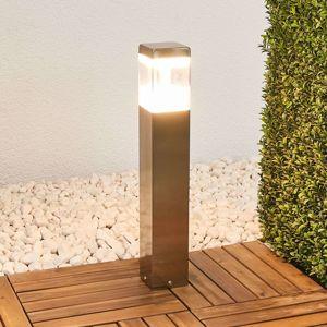 Svítidlo se soklem Baily s LED, nerezová ocel