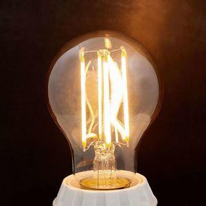 E27 LED žárovka Filament 6 W 500 lm jantar 2 200 K